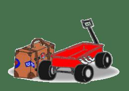 Little-Red-wagon BABY ver.2 sticker #2578837