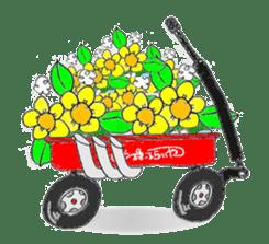 Little-Red-wagon BABY ver.2 sticker #2578845