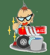 Little-Red-wagon BABY ver.2 sticker #2578846