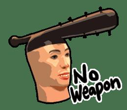 Negam! sculpture English Ver. sticker #2586334