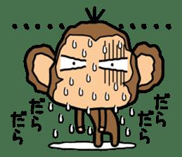 Funny monkey 2 sticker #2587449