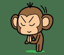 Funny monkey 2 sticker #2587458