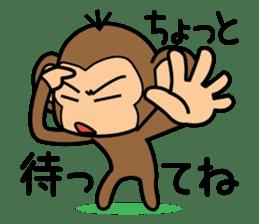 Funny monkey 2 sticker #2587462