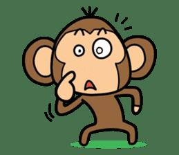 Funny monkey 2 sticker #2587464