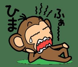 Funny monkey 2 sticker #2587467