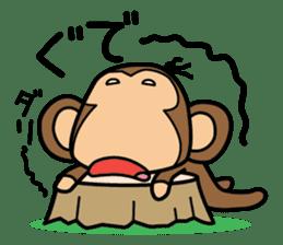 Funny monkey 2 sticker #2587470