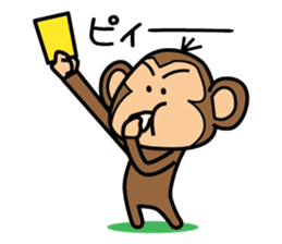 Funny monkey 2 sticker #2587480