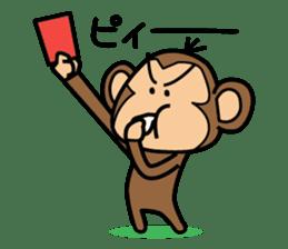 Funny monkey 2 sticker #2587481
