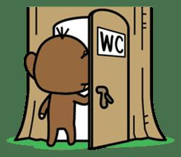 Funny monkey 2 sticker #2587485