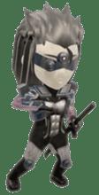 Sticker of ninja of the future 3D sticker #2589610