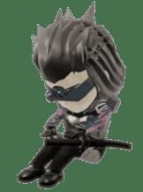 Sticker of ninja of the future 3D sticker #2589618
