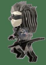 Sticker of ninja of the future 3D sticker #2589620