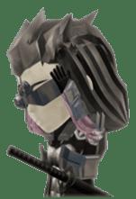 Sticker of ninja of the future 3D sticker #2589625