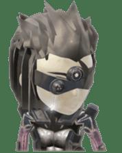 Sticker of ninja of the future 3D sticker #2589626