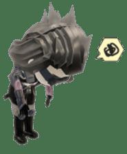 Sticker of ninja of the future 3D sticker #2589630