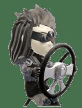 Sticker of ninja of the future 3D sticker #2589644