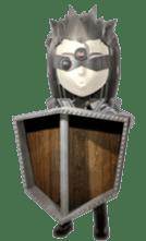 Sticker of ninja of the future 3D sticker #2589645