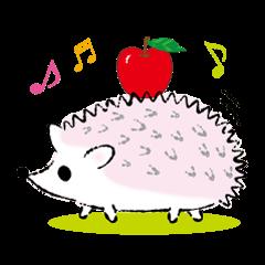 Yurufuwa hedgehog Lilli English version