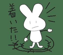 I'm Rabbit ! sticker #2597224