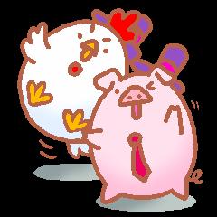 Chicken ball & pig ball
