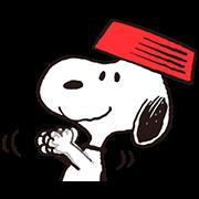 สติ๊กเกอร์ไลน์ Snoopy Gets Movin'