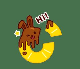 Chocolate Rabbit sticker #2603444