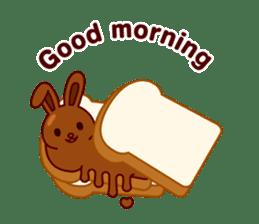 Chocolate Rabbit sticker #2603445