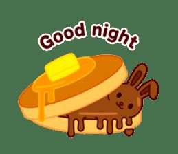 Chocolate Rabbit sticker #2603446