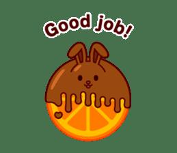 Chocolate Rabbit sticker #2603447