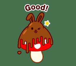Chocolate Rabbit sticker #2603448