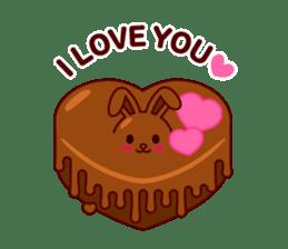 Chocolate Rabbit sticker #2603449