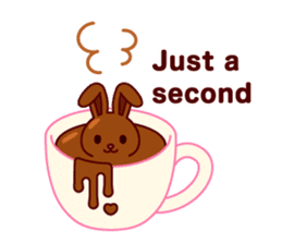 Chocolate Rabbit sticker #2603451
