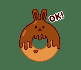 Chocolate Rabbit sticker #2603453