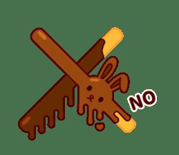 Chocolate Rabbit sticker #2603454