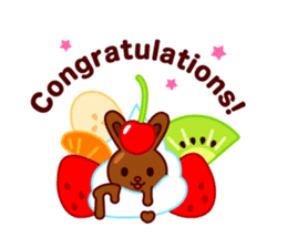 Chocolate Rabbit sticker #2603455