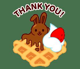 Chocolate Rabbit sticker #2603457