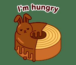 Chocolate Rabbit sticker #2603458
