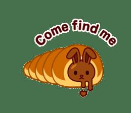 Chocolate Rabbit sticker #2603459