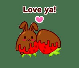 Chocolate Rabbit sticker #2603460