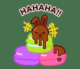 Chocolate Rabbit sticker #2603461