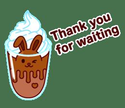 Chocolate Rabbit sticker #2603464