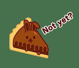 Chocolate Rabbit sticker #2603469