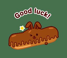 Chocolate Rabbit sticker #2603475