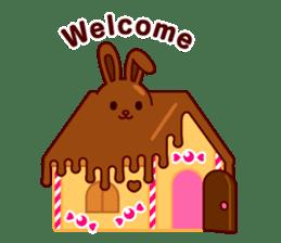 Chocolate Rabbit sticker #2603477