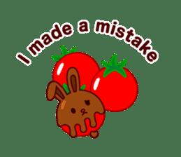 Chocolate Rabbit sticker #2603479
