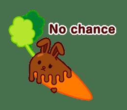 Chocolate Rabbit sticker #2603480