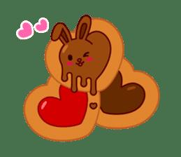 Chocolate Rabbit sticker #2603481