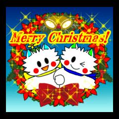Pudding-chan kitten Xmas (English)