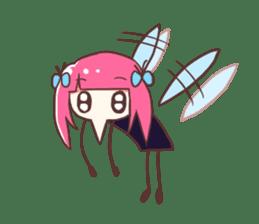 Mosquito Ka-Ko Chan. sticker #2607526