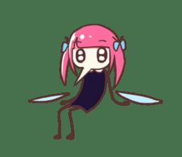 Mosquito Ka-Ko Chan. sticker #2607539